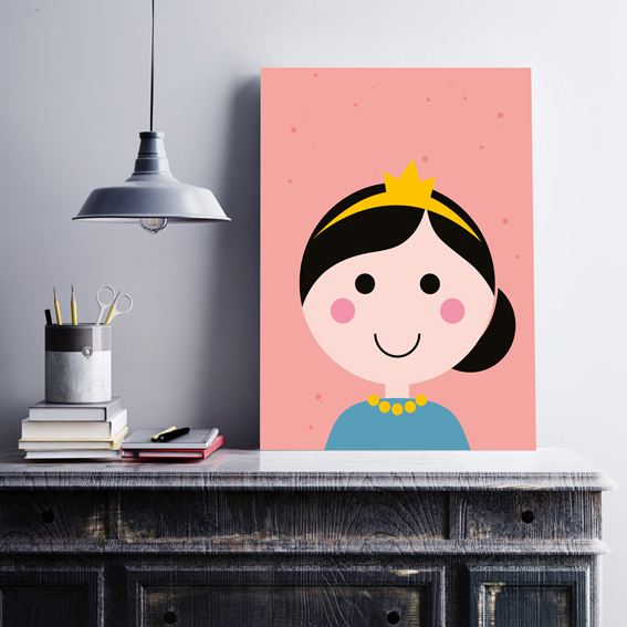 A4 Poster - Prinses