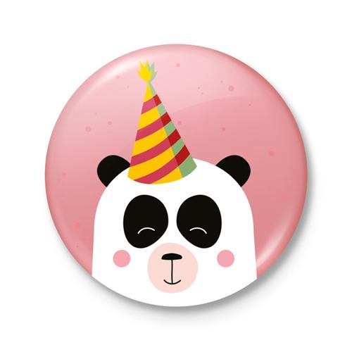 Button €� Feest! Panda