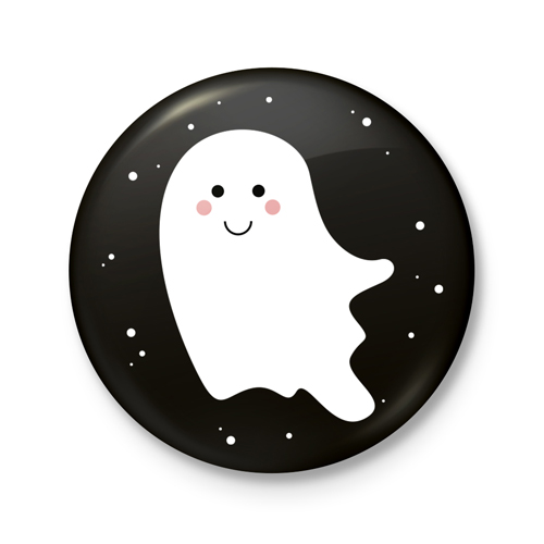 Button €� Halloween | Spook
