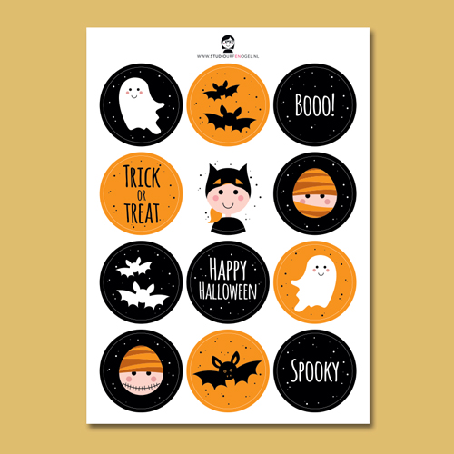Stickervel – Halloween