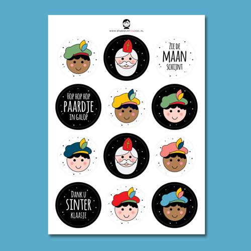Stickervel – Sinterklaas 1