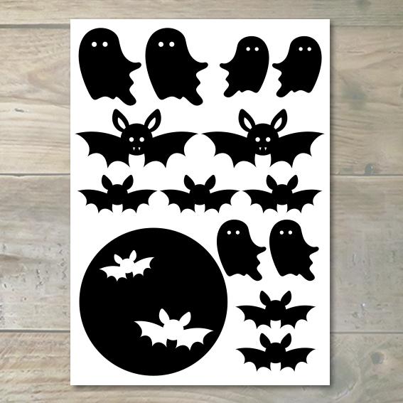 Raamstickers – Halloween