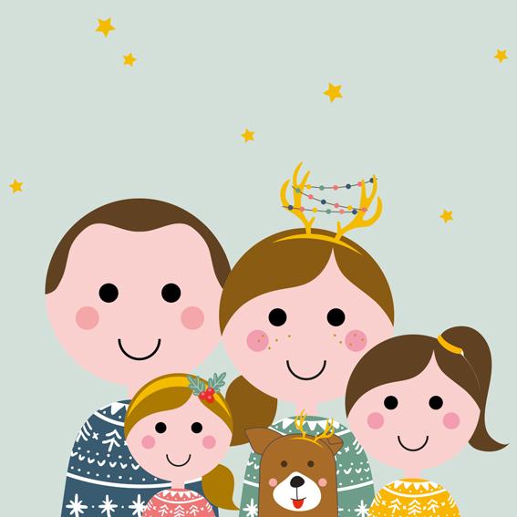 Familieportret – Dynamisch | Kerst Update!