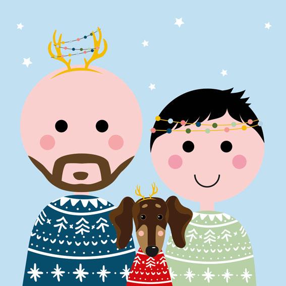 Familieportret – Dynamisch | Kerst NIEUW!