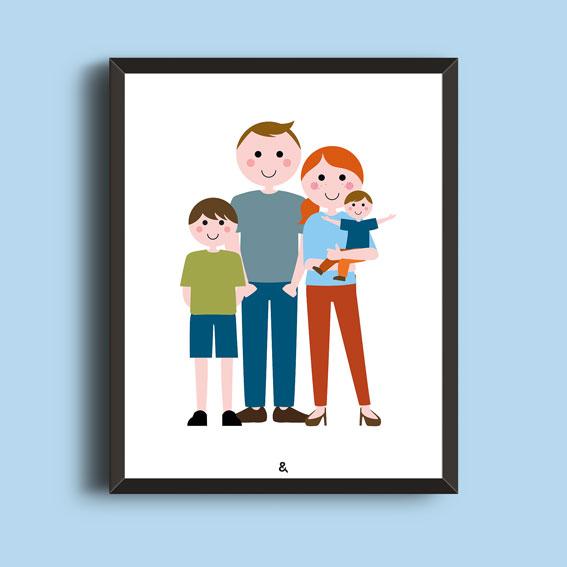 Familieportret – Van Top Tot Teen